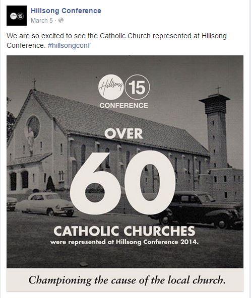 Hillsong Catholic ad